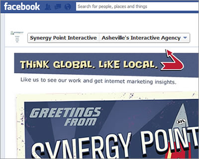 Synergy Point Facebook Portfolio App