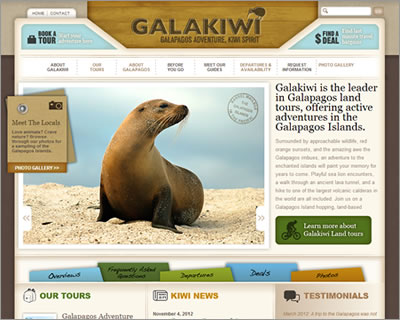 Galapagos Island Adventure Tours